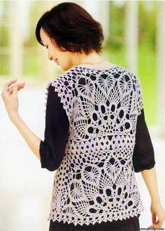 361 Besten Häkeln Jacke Bolero Weste Crochet Jacket Vest Bilder