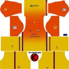 Barcelona Football Kit, Barcelona Third Kit, Barcelona Vs Real Madrid, Barcelona Team, Football Team Logos, Football Kits, Equipe Do Barcelona, Real Madrid Home Kit, Fcb Logo