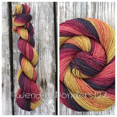 Hand dyed Yarn Gradient Yarn Sock Yarn by WendysWonders127 on Etsy