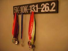 Running display medal racks
