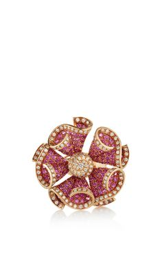 Blooming flower ring by SINTESSI for Preorder on Moda Operandi