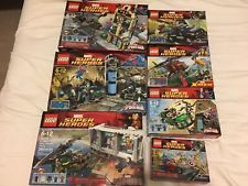 LEGO Super Heroes Marvel Lot 7 Sets