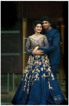 Engagement Dress For Groom, Couple Wedding Dress, Wedding Dresses Men Indian, Beautiful Bridal Dresses, Indian Gowns Dresses, Engagement Dresses, Designer Wedding Dresses, Wedding Reception Gowns, Wedding Lehenga Designs