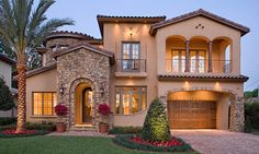 my DREAM home :) tuscan yet modern style :)