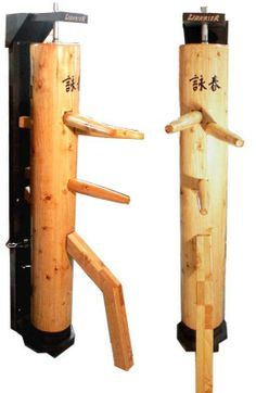 Wing Chun Dummy w/ Recoil Reaction Stand