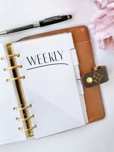Divider Sets – The Fabulous Planner Discbound Planner, Kikki K Planner, Weekly Planner, Planner Dividers, Planner Inserts, Mini Happy Planner, Louis Vuitton Agenda, Stationery