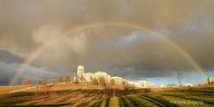 Rainbow Over CISAT, James Madison University  © Frank Doherty