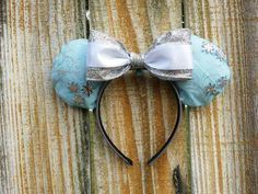 Elsa Frozen Minnie mouse ears