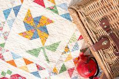 Fat Quarter Shop Block of the Month | A Quilting Life - a quilt blog