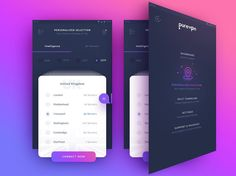 UI application Design designed by uixNinja. Connect with them on Dribbble; the global community for designers and creative professionals. Mobile Ui Design, App Ui Design, User Interface Design, Flat Design, Game Interface, Best Vpn, App Design Inspiration, Mobile App Ui, Ui Web