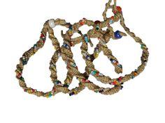 Spiral Bead Bracelet / Anklet