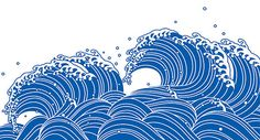 Find Wave Blue Japanese Style stock images in HD and millions of other royalty-free stock photos, illustrations and vectors in the Shutterstock collection. Thousands of new, high-quality pictures added every day. Japanese Artwork, Japanese Prints, Meer Illustration, Japanese Illustration, Wave Drawing, Art Japonais, Style Japonais, Japanese Waves, Water Patterns