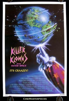 "Killer Klowns From Outer Space (""Palhaços Assassinos Do Espaço Sideral"" in Brasil)"