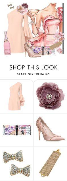 """Rose'"" by shoppe23 ❤ liked on Polyvore featuring Exclusive for Intermix, RALPH & RUSSO, dress, partystyle and Shoppe23"
