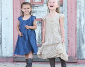 Girls Navy Lace Silk Dress Flower Girl Vintage, size 12-18M 2t-3t 4-5 6-7 8-10- AMELIA by Sanguinetti Clothing. $185.00, via Etsy.  LOVE THE RUFFLE DRESS! Super cute