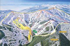 Schweitzer Ski Resort in Sandpoint, Idaho - front side!