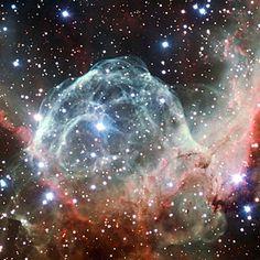 Imagen de la Nebulosa del Casco de Thor obtenida con motivo de la celebración 50 aniversario de ESO