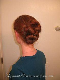 Long Hair Updo Tutorials