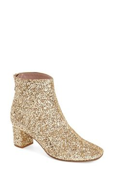 Free shipping and returns on kate spade new york 'tal' bootie (Women) at Nordstrom.com. A stylishly rounded square toe and block heel modernize a chic bootie shaped from smooth leather and cast in a sleek silhouette.