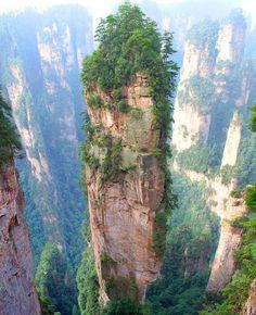 Tianzi Dağları, Çin