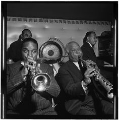 Freddie Moore, Hot Lips Page, Sidney Bechet, and Lloyd Phillips, Jimmy Ryan's (Club), New York, N.Y., ca. June 1947