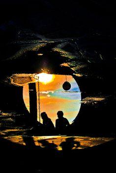 Fim de Tarde no Templo - Foto de João Benz