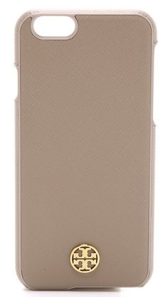 Tory Burch Robinson Hardshell iPhone 6 Case $65.00 Color: French Grey