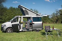 Open | Der SpaceCamper VW T5 Camping-Ausbau - Reisemobil, Wohnmobil, Campingbus und Alltagsfahrzeug in Darmstadt