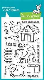 Lawn Fawn: Critters On The Farm