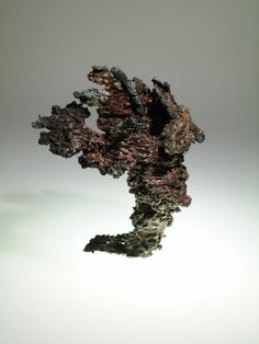 """""""Blasted Apple"""" Copper & zinc plated steel oxidized"""
