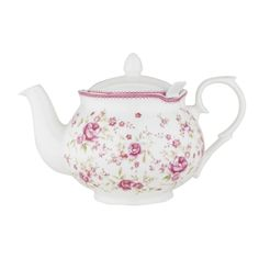 Vintage Rose 6-Cup Chatsford Filter Teapot | Teapots | Glass Teapots | Novelty Teapots | Whittard of Chelsea