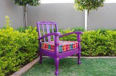 Purple Haze - By Once upon a Time Purple Haze, Outdoor Furniture, Outdoor Decor, Once Upon A Time, Furnitures, Bellisima, Sofa, Interior Design, Chair