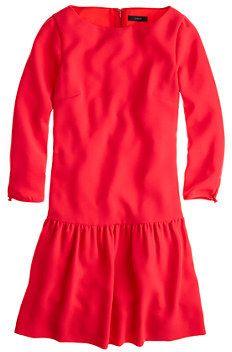 J.Crew Crepe boatneck dress on shopstyle.com