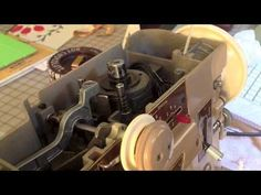 Basic Maintenance Singer 401 -Oiling your Vintage Sewing Machine -Part 2