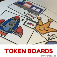 FUN Token boards for your autism classroom! FREE