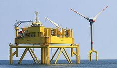 BARD Offshore I Wind Farm, North Sea, Germany