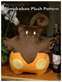 Pumpkaboo plush PDF sewing pattern make your by PulsefireKitten, £10.00