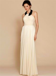 Could be considered as an option for the bride otherwise it's a sophisticated and chic look for bridesmaids.