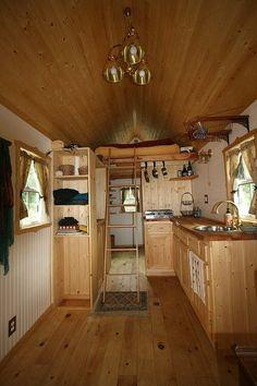 Ella's Tiny House interior