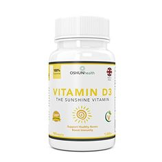 From 5.97 Vitamin D Tablets | 1000iu Vitamin D3 Supplement | Healthy Joints And Bones | Immunity Support | 180 Pills | Six Month Supply | Suitable For Vegetarians | Uk Produced & Gmp Certified | Oshunhealth | Limited Time Introductory Offer
