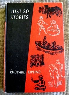 Excited to share this item from my #etsy shop: Just So Stories by Rudyard Kipling. Vintage Hardback Book. Rudyard Kipling Books, Ladybird Books, Story Writer, Reading Quotes, Songs To Sing, Children's Literature, Bedtime Stories, Book Crafts, Vintage Books