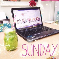 Happy #SundayRunday team!  My #bootycall was Cupid's Cardio. I had so much energy today!  I ran it at my fastest pace and ended up running a 5K! That felt good.  Now I'm relaxing with a green lemonade (kale      cucumber   ). Drink your greens!  Spending my Sunday cleaning, Pinteresting (of course), and doing homework. ✏️ Midterms start this week!  So far it has been a great day 3⃣ of my #7DSD. I've lost two pounds, although that was not my intention.