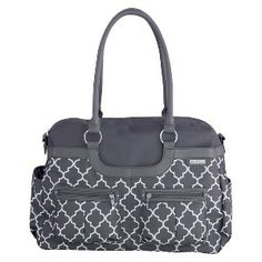 JJ Cole Satchel Diaper Bag - Stone Arbor I NEED THIS IN MY LIFE