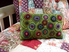 Handmade Wool Pillow