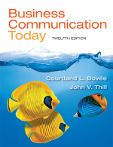Bovee & Thill Business Communication Blog