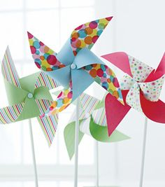 These pinwheels are great for a backyard BBQ and could make really cute party favors.