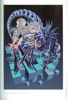 Kazuki Takahashi, Studio Gallop, Yu-Gi-Oh Duel Monsters, Duel Art - Kazuki Takahashi Yu-Gi-Oh! Illustrations, Ryou Bakura