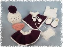 Häkelanleitung Puppenkleidung Luise im Winterponcho Doll Clothes Patterns, Clothing Patterns, Baby Born, Beautiful Dolls, Barbie Dolls, Baby Shoes, Diy Crafts, Blog, Tricot