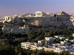 Greece - Full of Olympic Gods, mythical creatures, & ancient traditions. Who wouldn't want to visit, & be secretly hoping they'll be caught up in the Greek way of life?