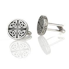 Celtic Cufflinks - Polierte schottische Manschettenknöpfe | Eburya